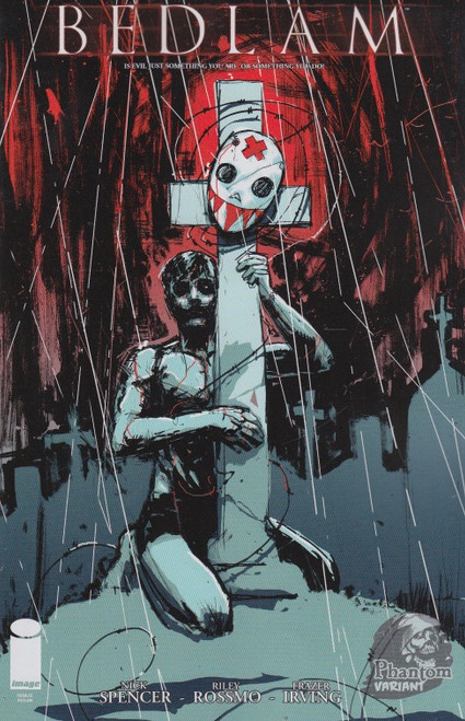 Bedlam #4 (VF) Phantom Variant