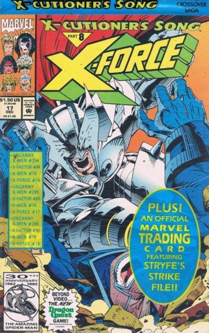 X-Force #17 (Bagged, with card)