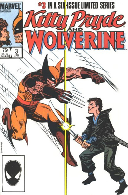 Kitty Pryde and Wolverine #3 (VG)