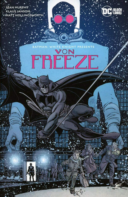 Batman: Curse of the White Knight: Von Freeze (Cover B)