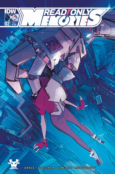 Read Only Memories #2 Cover A