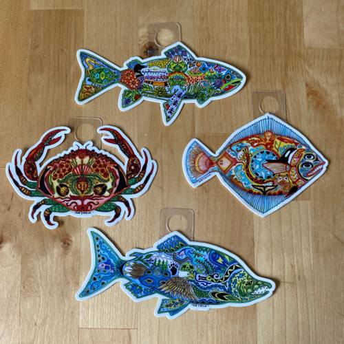Sea Life Sticker