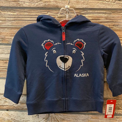 AK Animal Zip Up Hoodie