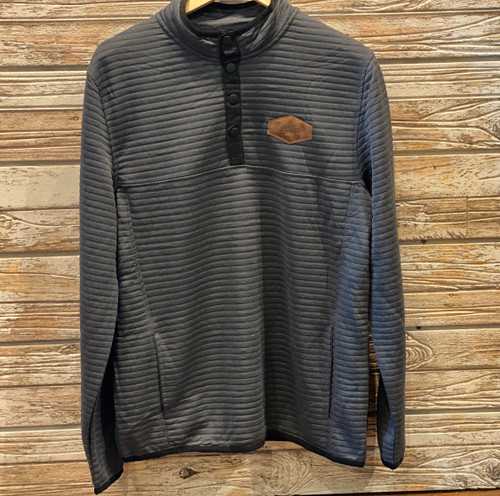 Chase Quilted Snap Pull-Over