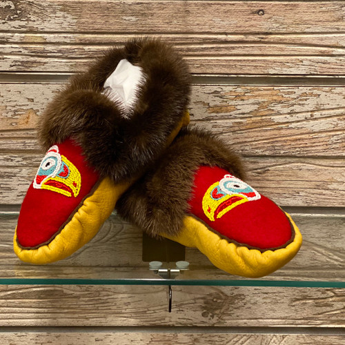 Moccasin Size 8
