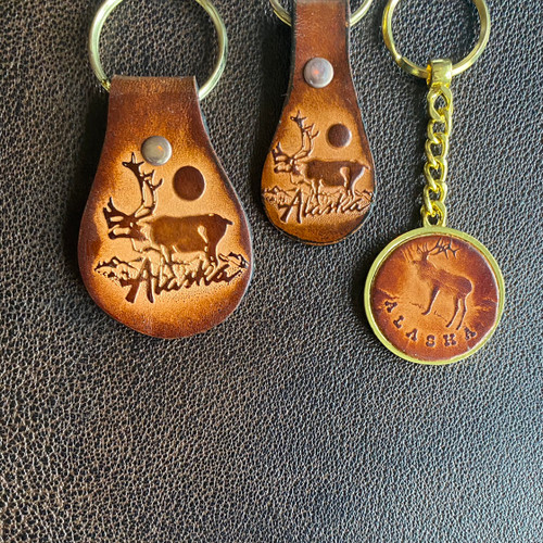 Leather Key Chain Assorted