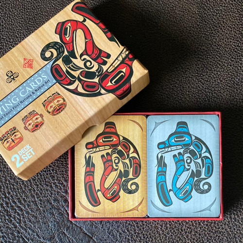 Double Deck box Set Playing Cards
