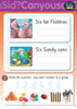 Reading Eggs - Beginning to Read - Activity Book 6 (OUT OF STOCK)