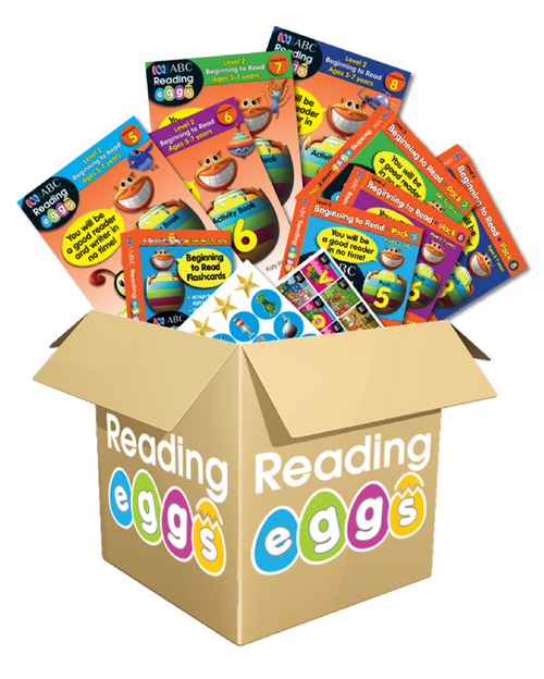 Reading Eggs Book Pack Level 2