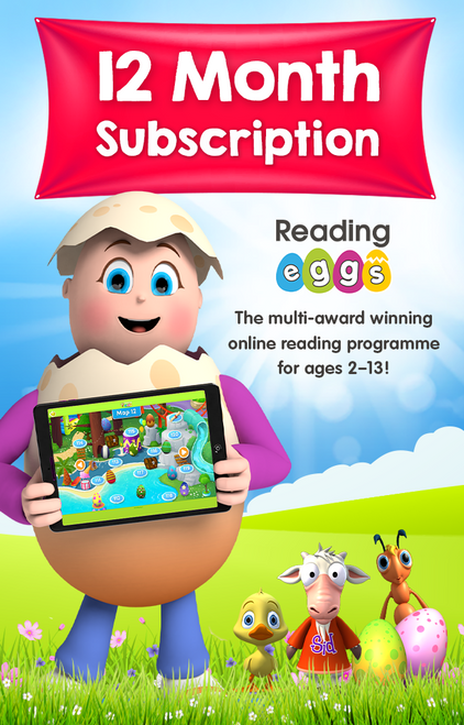 Reading Eggs 12 Month Subscription