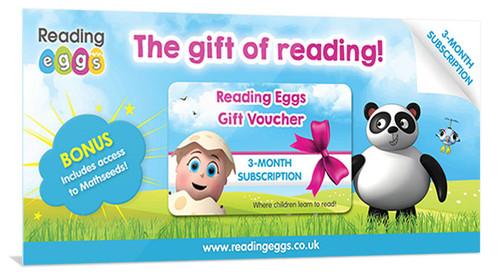 reading eggs gift voucher
