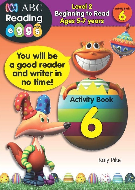 Reading Eggs - Beginning to Read - Activity Book 6