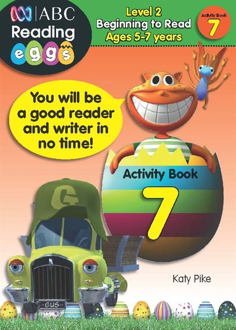 Reading Eggs - Beginning to Read - Activity Book 7