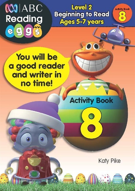 Reading Eggs - Beginning to Read - Activity Book 8