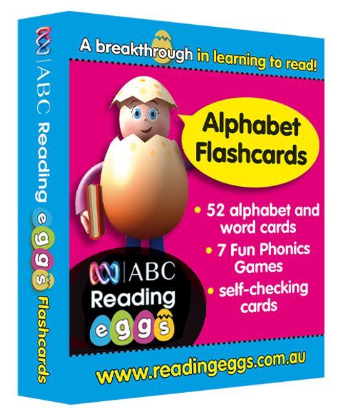 Reading Eggs - Starting Out - Alphabet Flashcards  - OUT OF STOCK
