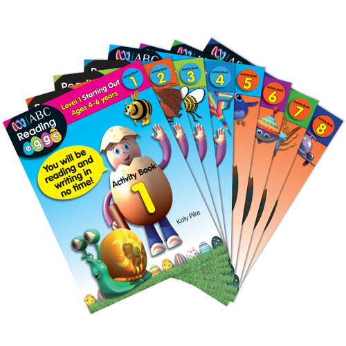 Reading Eggs Activity Book Bundle (8 Books)