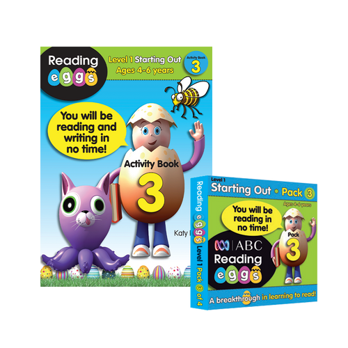 Activity Book and Mini Book Pack Bundle 3