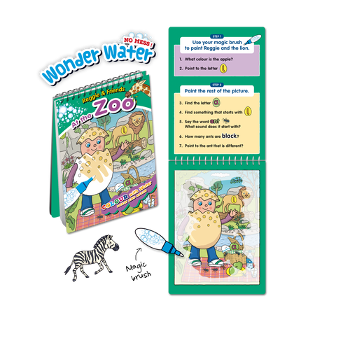 Reading Eggs Wonder Water - Reggie & Friends at the Zoo (OUT OF STOCK)