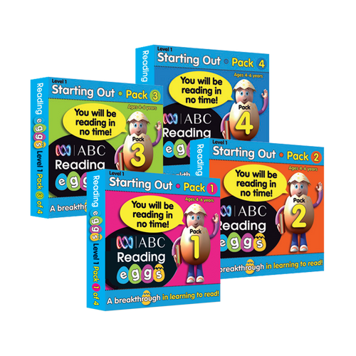 Mini Book Pack Bundle 1 (packs 1-4)