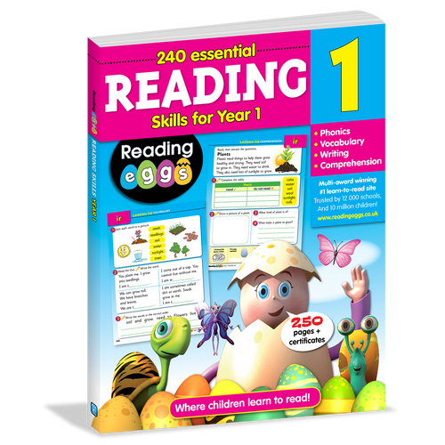 Reading Eggs: 240 Essential Reading Skills for Year 1