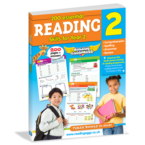 Reading Eggs: 200 Essential Reading Skills for Year 2