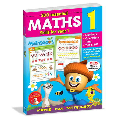 Mathseeds: 200 Essential Maths Skills for Year 1
