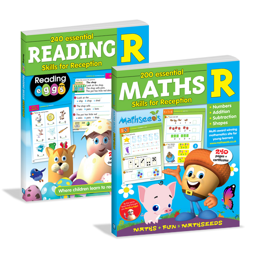 Reading & Maths Essential Skills for Reception Bundle