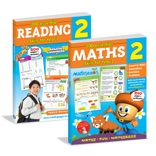 Reading & Maths Essential Skills for Year 2 Bundle