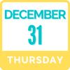 Thursday, December 31   9:00am - 3:00pm