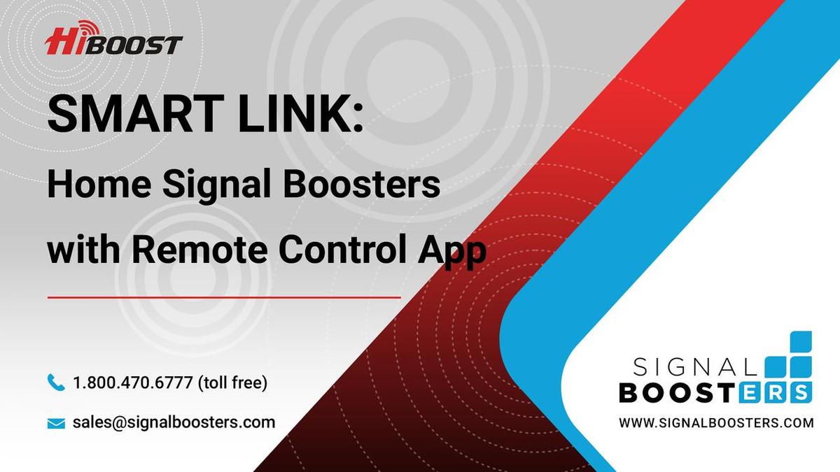 HiBoost HiBoost Home 10K Smart Link Signal Booster Kit
