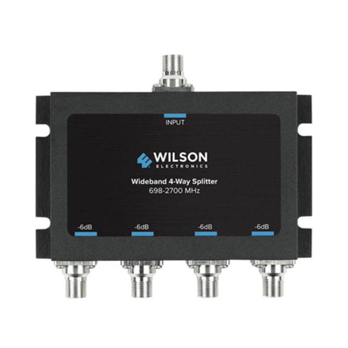 Wilson Electronics Wilson Electronics -6db 4-way Splitter for 698-2700 MHz 75ohm or 850036