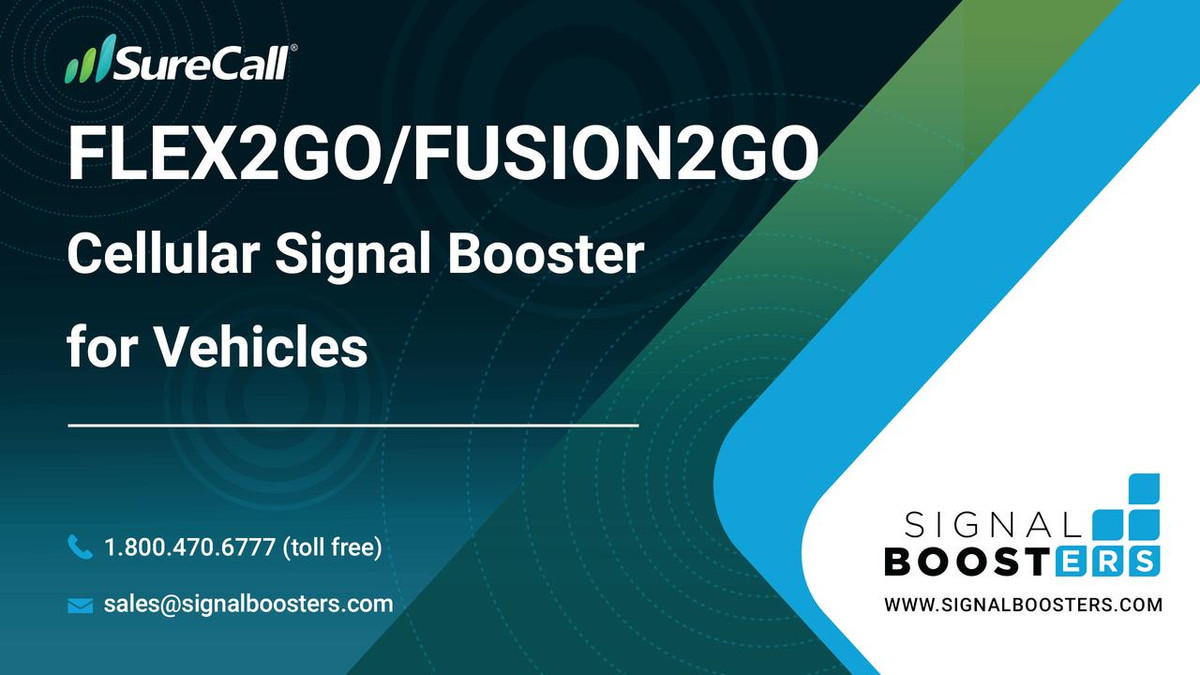 SureCall SureCall Fusion2Go Max Cell Phone Signal Booster Kit