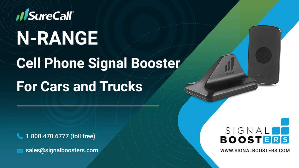 SureCall SureCall N-Range 2.0 Vehicle Signal Booster