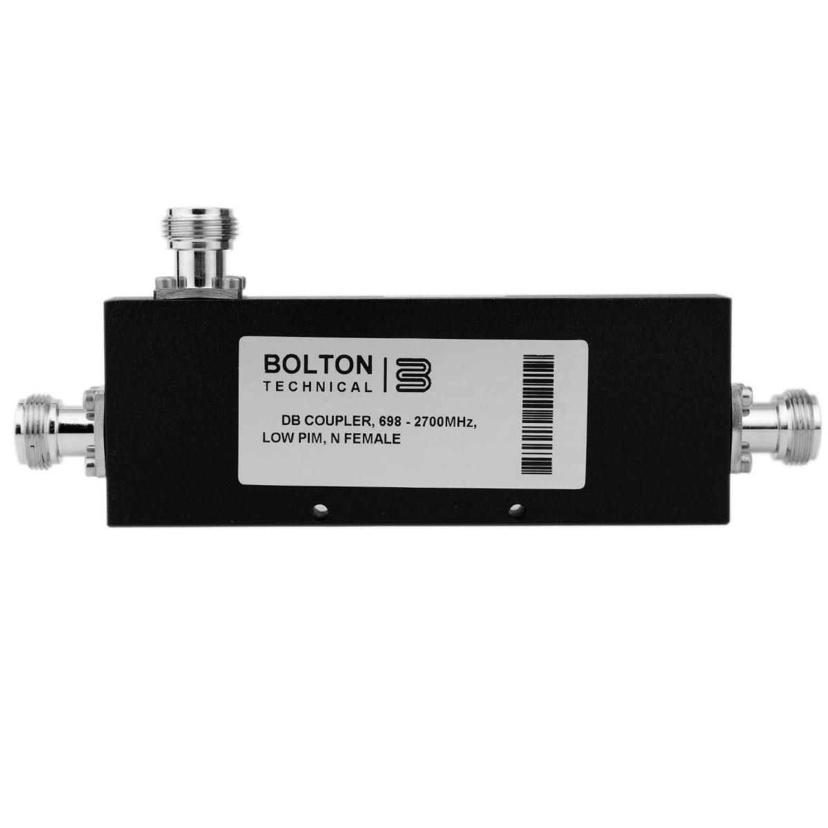 Bolton Tech Bolton Technical 10 dB Coupler, 698-2700 MHz, Low-PIM, N-Female
