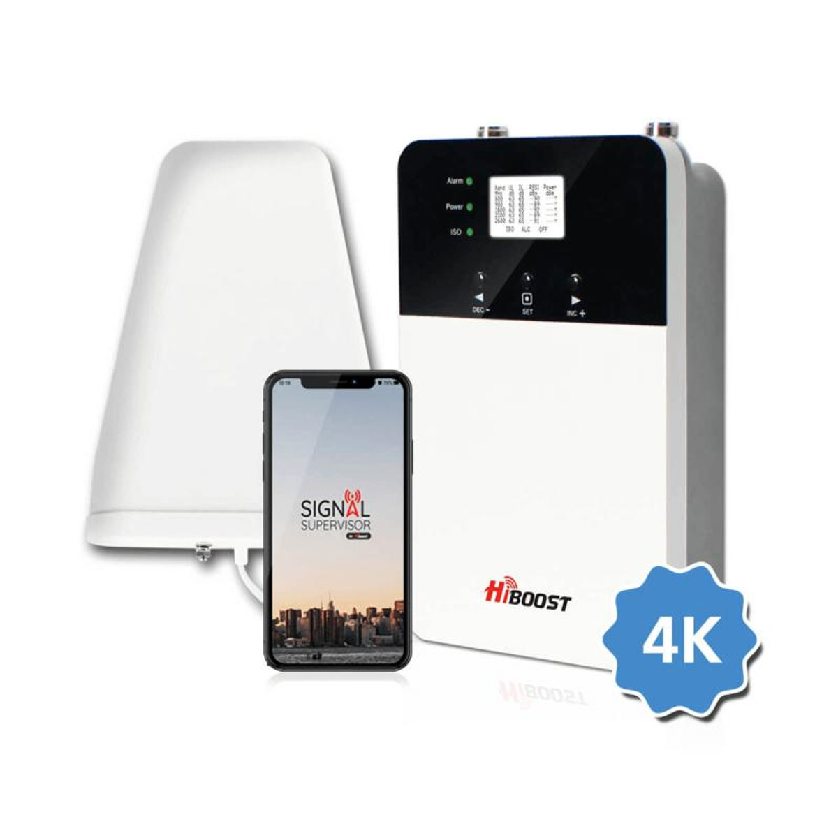 HiBoost HiBoost Home 4K Plus Signal Booster Kit