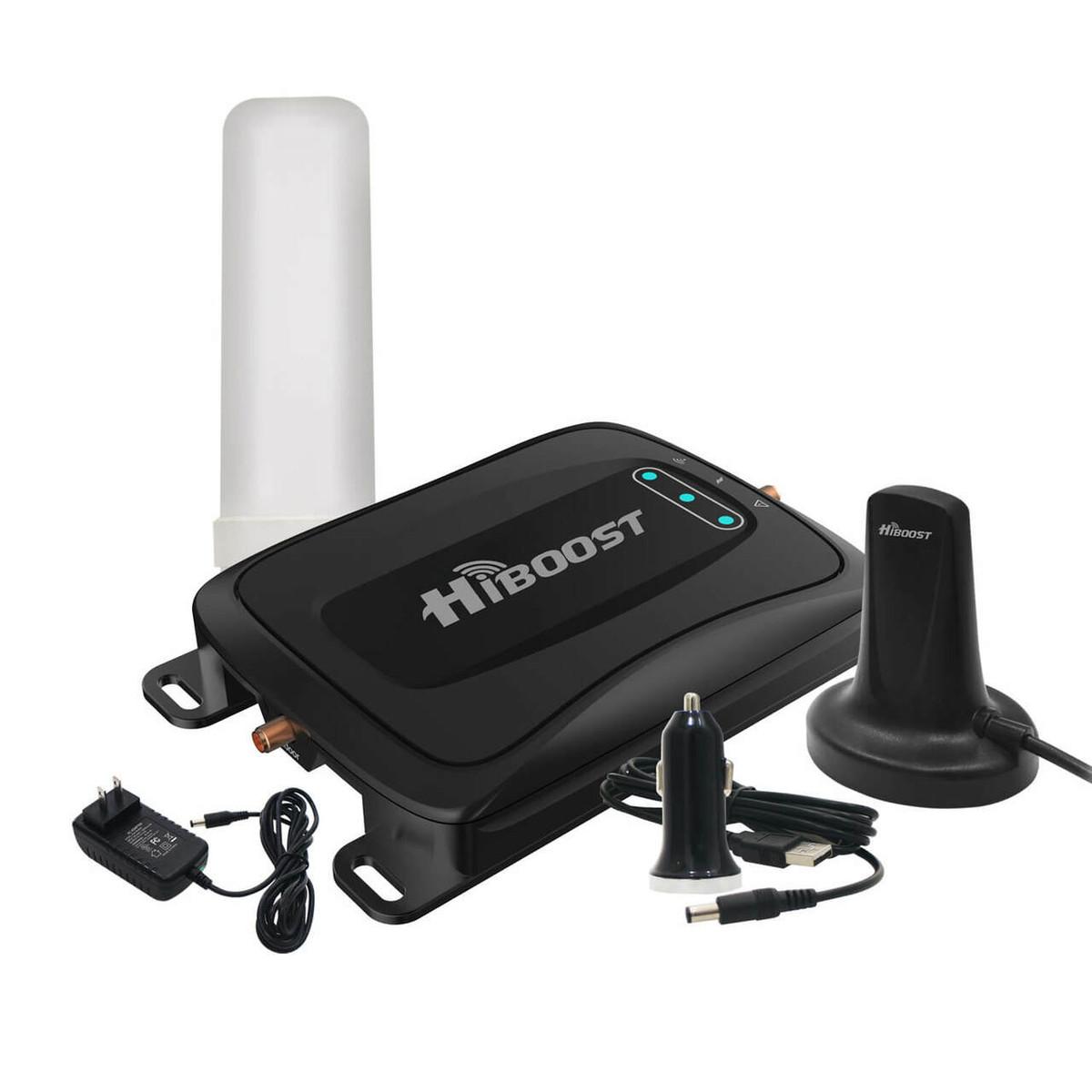 HiBoost HiBoost Travel 4G 2.0 RV LTE Car Cell Phone Signal Booster Kit or C27G-5S-BTW-RV
