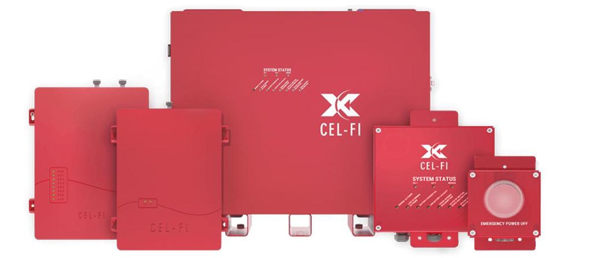 Cel-Fi Cel-Fi QUATRA RED ERRCS Public Safety System