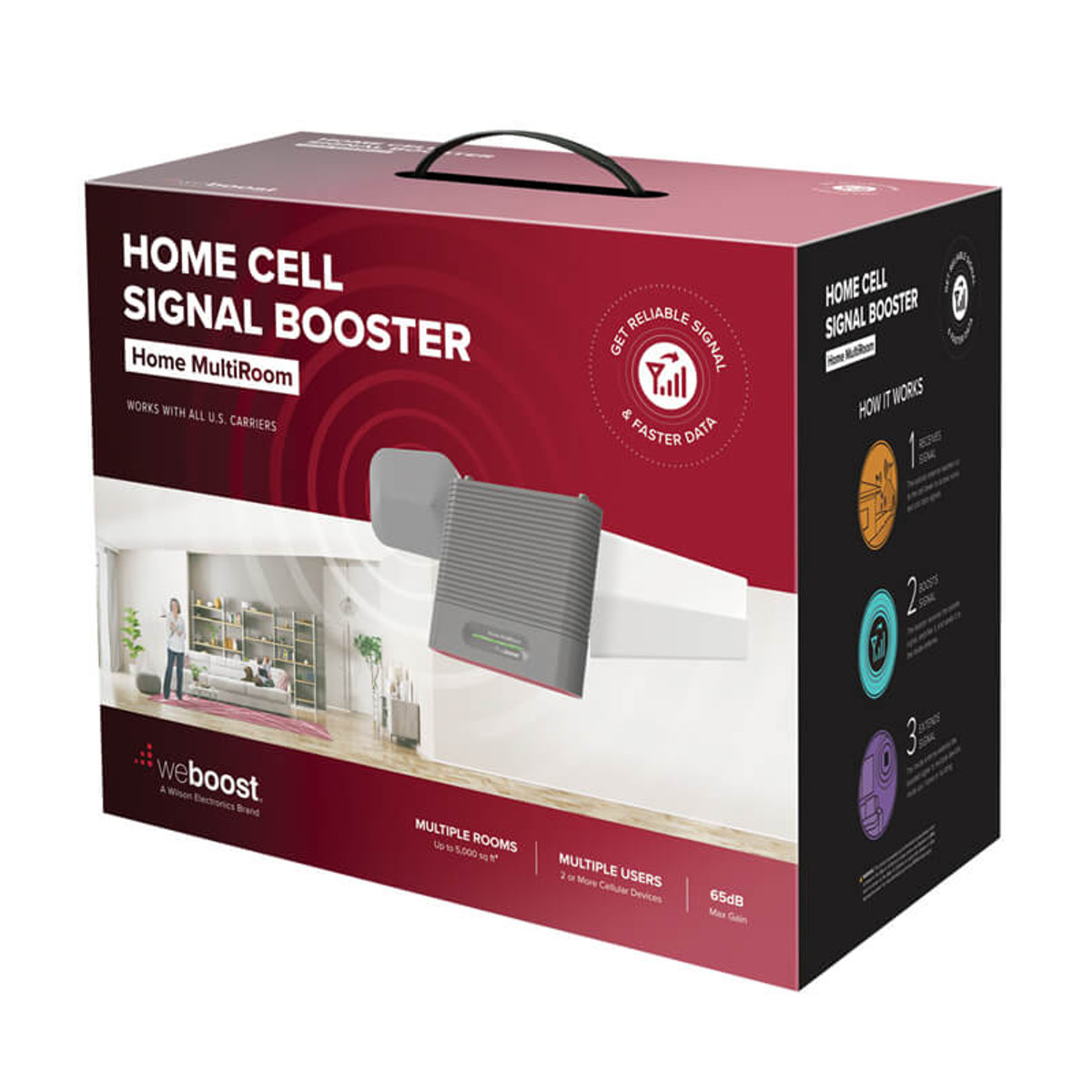weBoost Home MultiRoom Signal Booster Kit - 470144