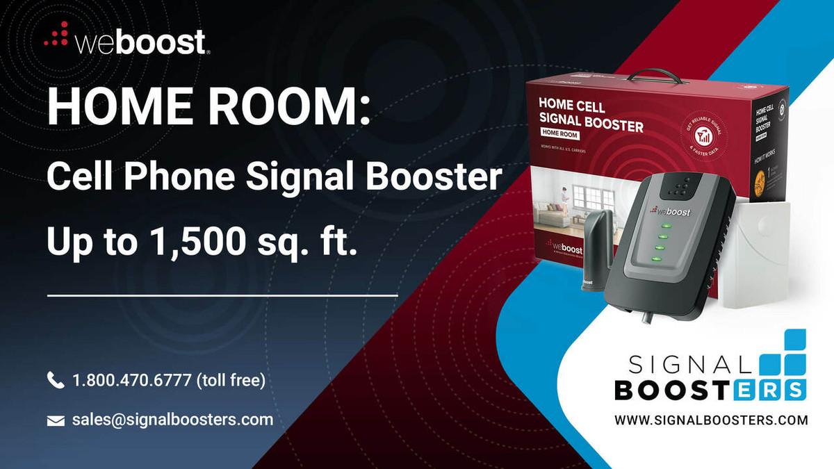 weBoost weBoost Home Room Signal Booster Kit, Refurbished - 472120R