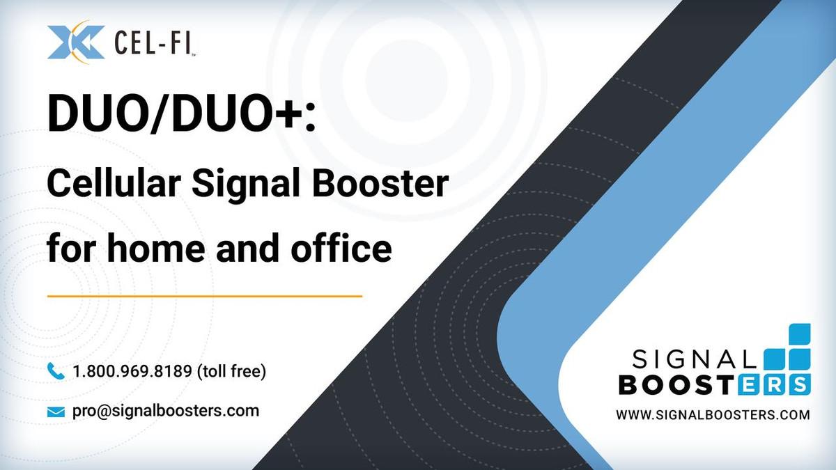 Cel-Fi Cel-Fi DUO Smart Signal Booster, Refurbished