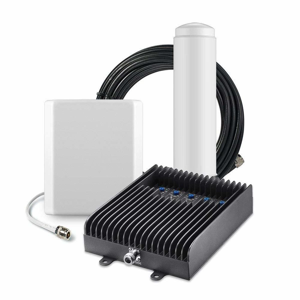 SureCall Fusion5s Signal Booster Kit w/ Outdoor Omni & Indoor Panel Antenna