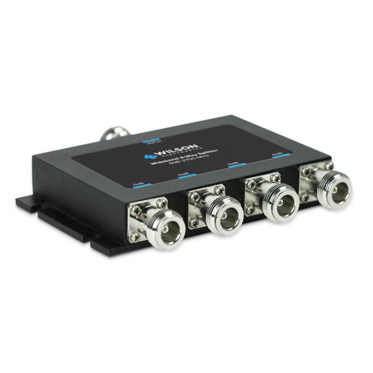 Wilson Electronics weBoost Wilson 859981 -6dB 4-Way Splitter for 700-2700MHz or 50 Ohm