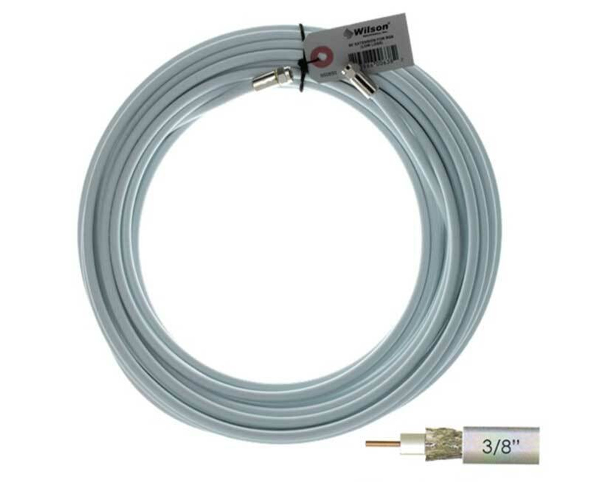Wilson Electronics weBoost Wilson 950650 RG6 F-Male to F-Male or 50 ft White Cable