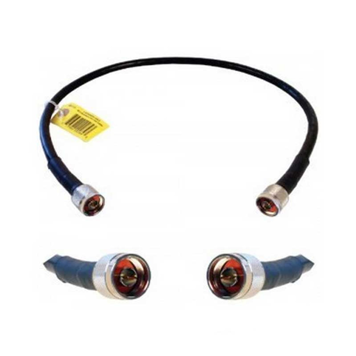 Wilson 951134 2-Foot Extension Cable RG58U Low Loss Foam Coaxial w/ N-Male '''_'ÇÎ⒑'__'''_''_'''_'ÇΝ'''_''_'''_'Ç΂ N-Male Connectors, detail