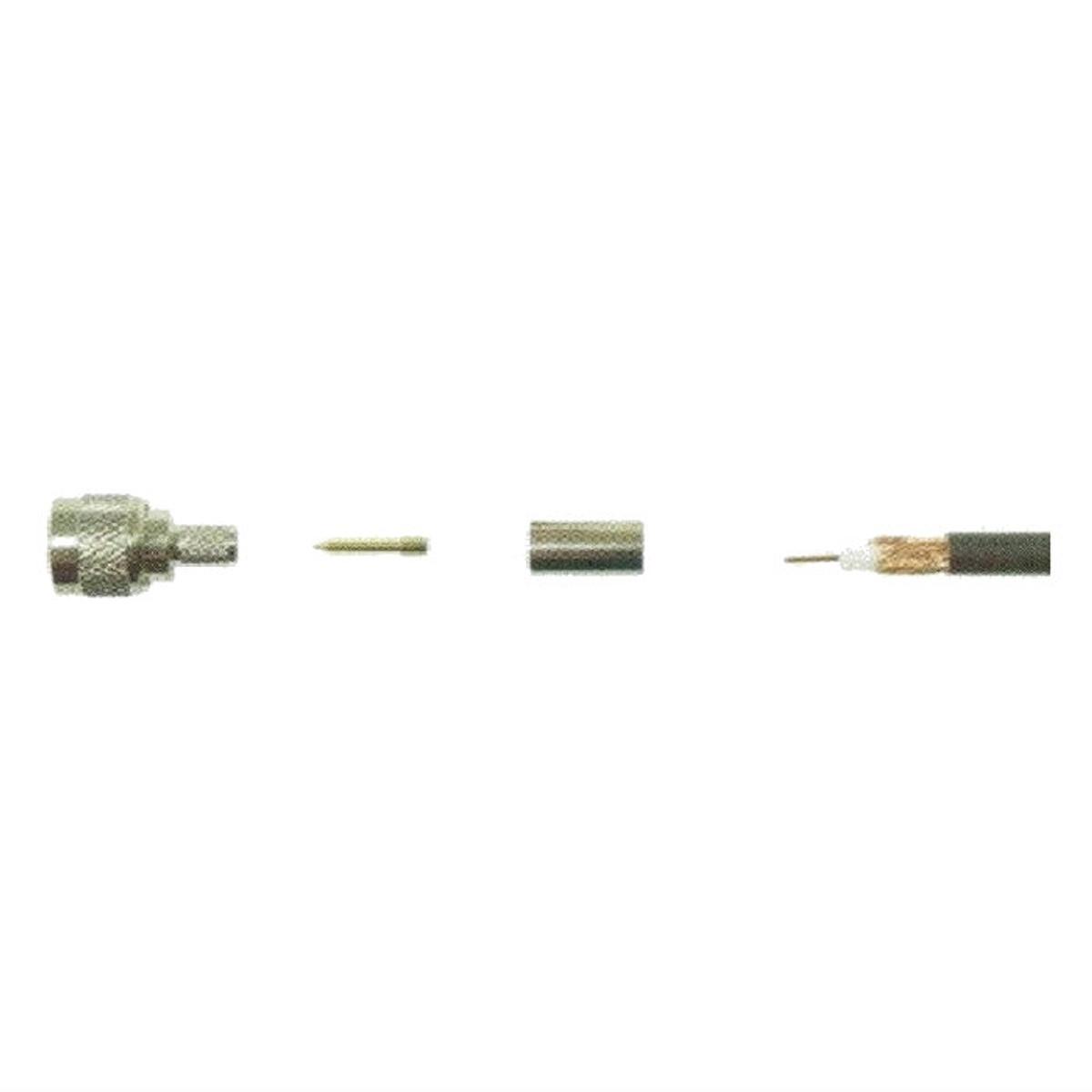 Wilson 971112 Mini UHF Male Crimp for RG 58U Cable