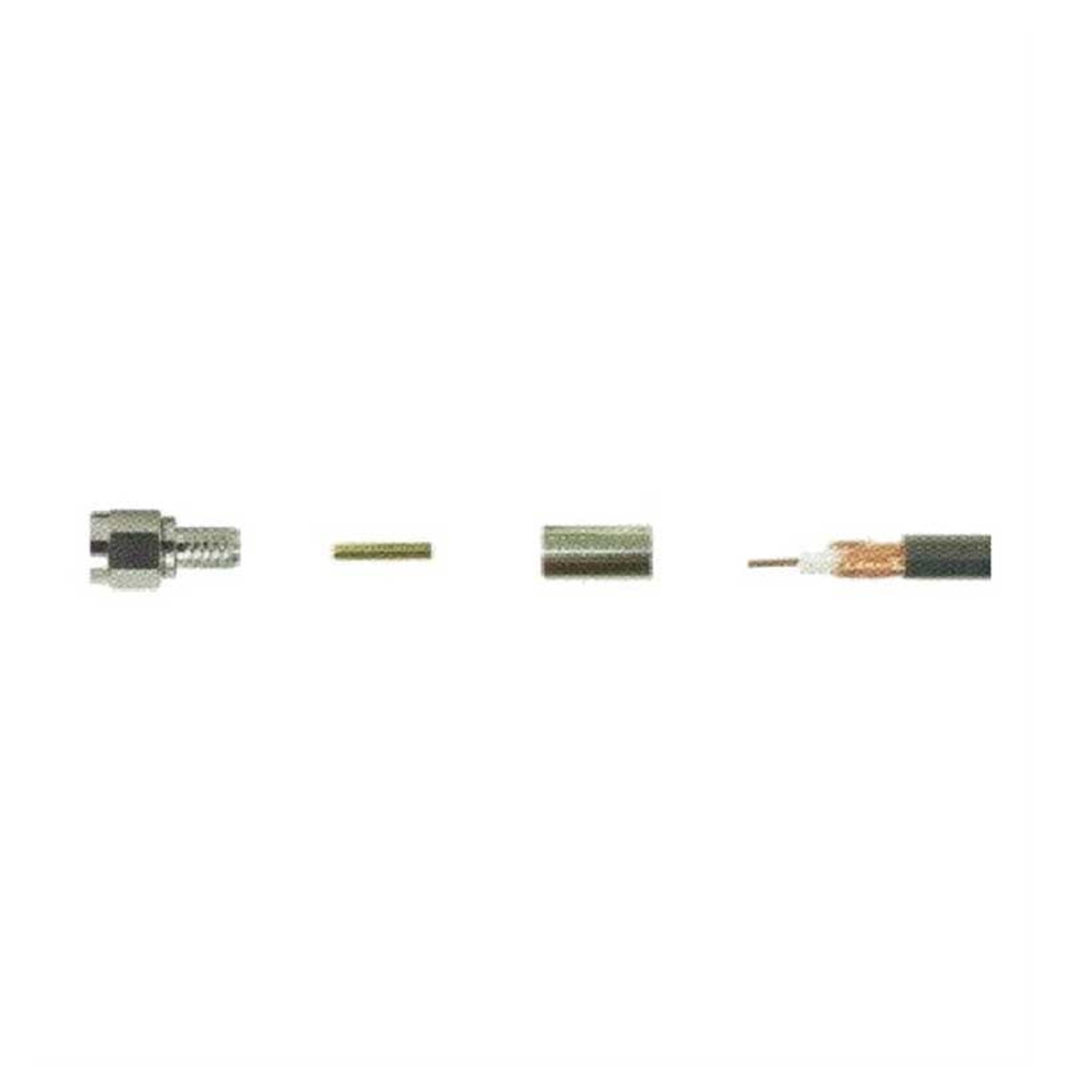 Wilson 971131 SMA Male to RG58 Crimp Connector