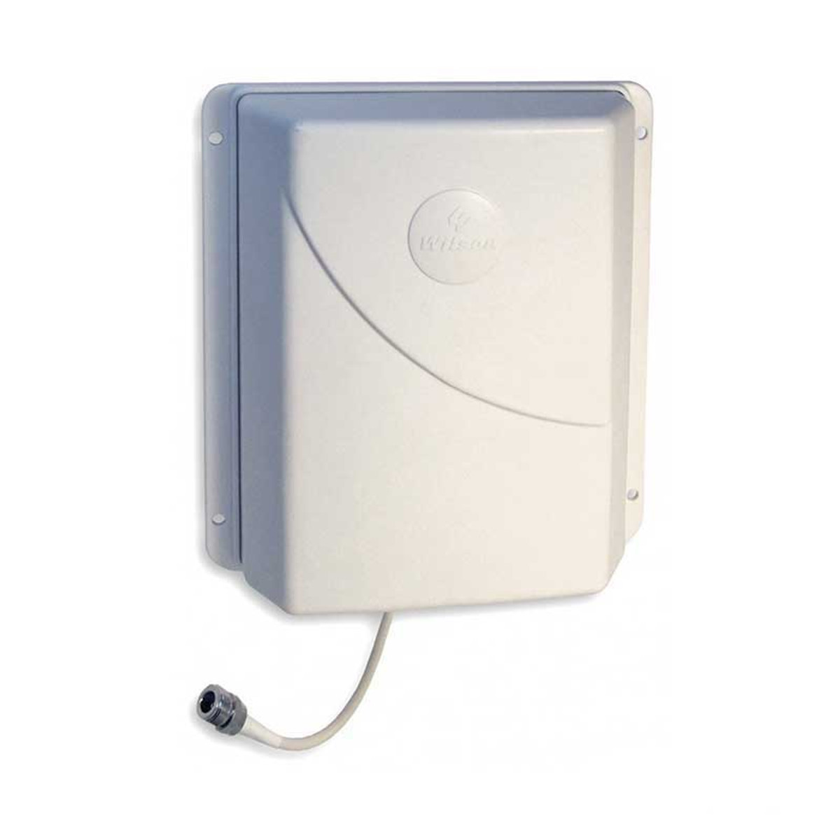 Wilson 304451 Ceiling Mount Panel Antenna 700-2700 MHz 50 Ohms Multi Band, shown with mount installed