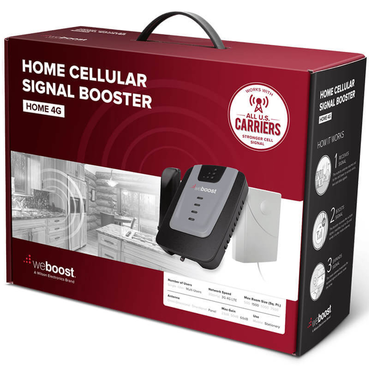 weBoost Home 4G Cell Phone Signal Booster Kit | 470101