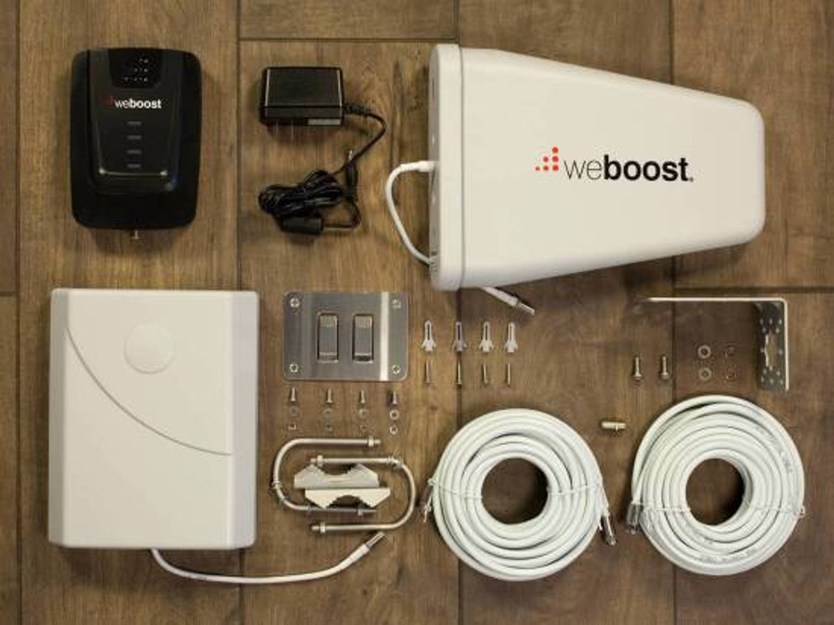 weBoost Connect 4G Cell Phone Signal Booster - Full Kit