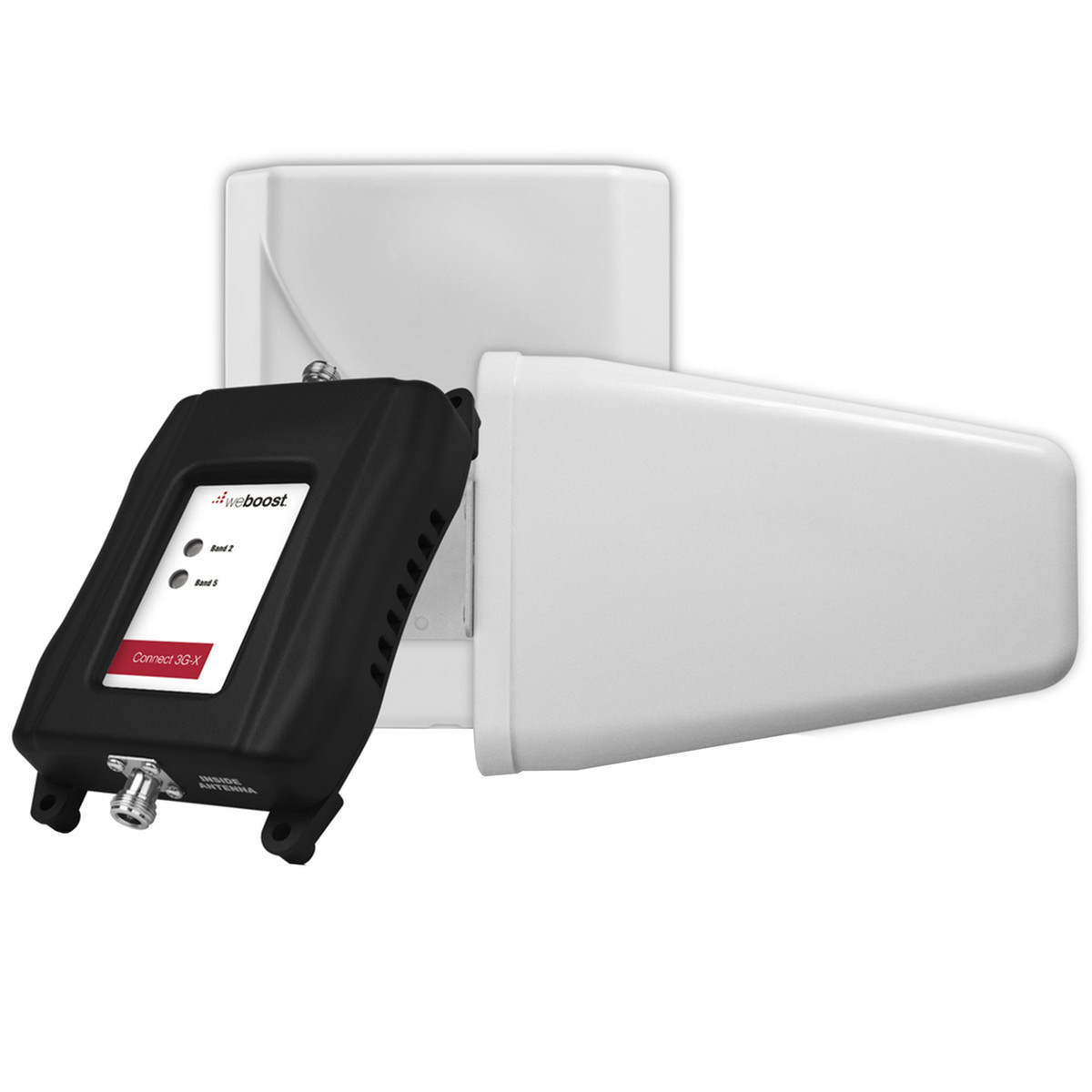 weBoost Connect 3G-X Cell Phone Signal Booster | 470105 Complete Kit